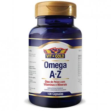 Omega A-Z 120 cápsulas Vit Gold