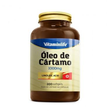 Óleo de Cártamo 1000mg 200 softgels Vitamin Life