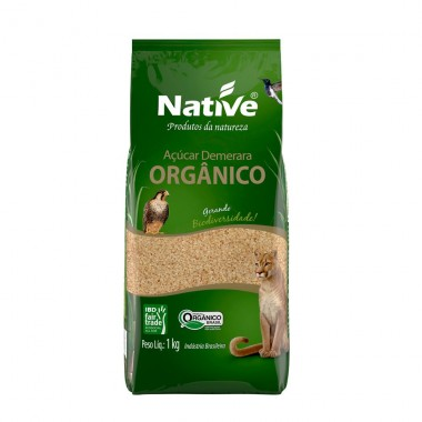 Açúcar Demerara 1Kg Native