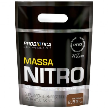Massa Nitro Refil 2,52kg Probiótica - Chocolate