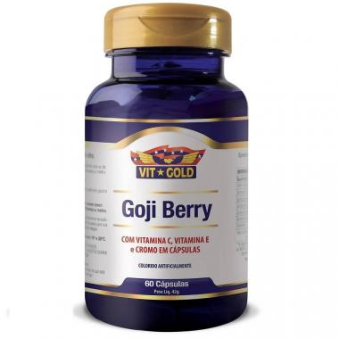 Goji Berry 60 cápsulas Vit Gold