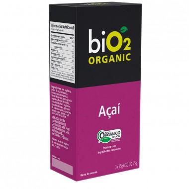 Barra Bio2 Organic 3 barras x 25g Organic