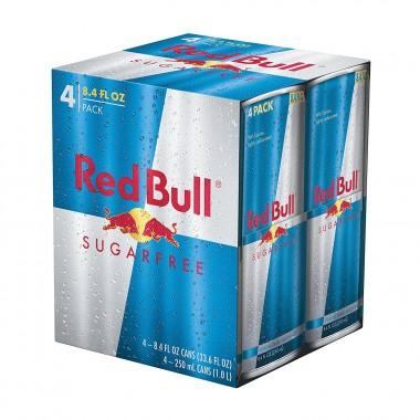 Energético Red Bull sem açúcar pack c  4 latas 250ml - Ultrafitness ... 7299fe47700