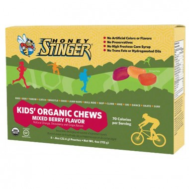 Kids Organic Chews 5 sachês c/ 22,6g cada Honey Stinger