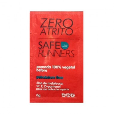 Zero Atrito Pomada Vegetal 8g Safe Runners
