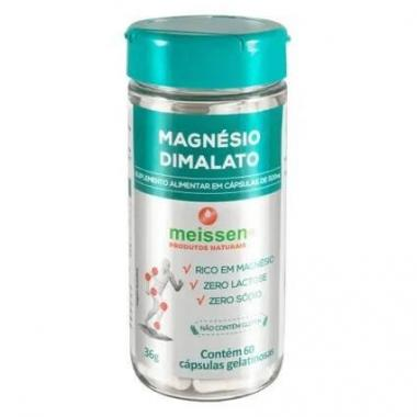 Mágnesio Dimalato 60 cápsulas Meissen