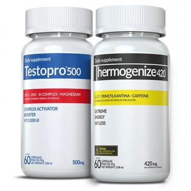 TestoPro® 500 + Thermogenize® 420