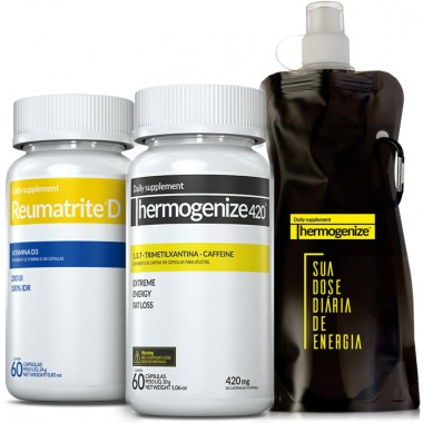 Thermogenize® 420 + Reumatrite® D + Squeeze Inove Nutrition