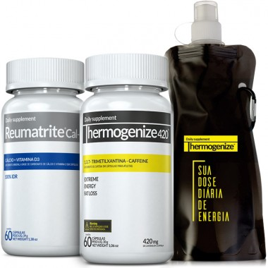 Thermogenize® 420 + Reumatrite® Cal-D3 + Squeeze Inove Nutrition