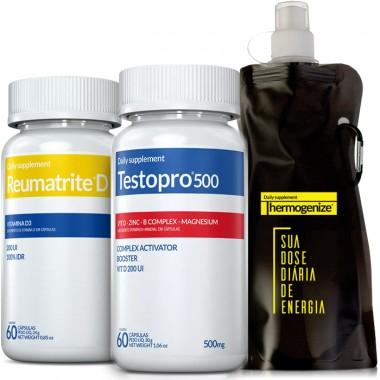TestoPro® 500 + Reumatrite® D + Squeeze Inove Nutrition