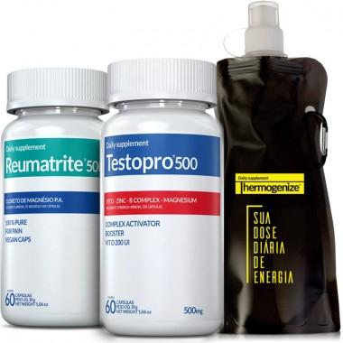 TestoPro® 500 + Reumatrite® 500 + Squeeze Inove Nutrition