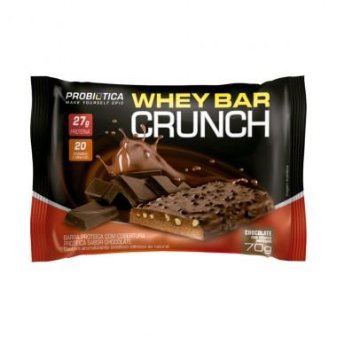 18e7b03f8 Whey Bar Crunch 70g Probiótica - Ultrafitness Suplementos