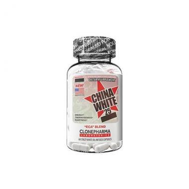 China White 25 60 cápsulas Clone Pharma
