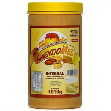 Pasta de Amendoim com Mel 1,010kg Grain Power