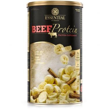 Beef Protein 480g Essential Nutrition Banana com Canela