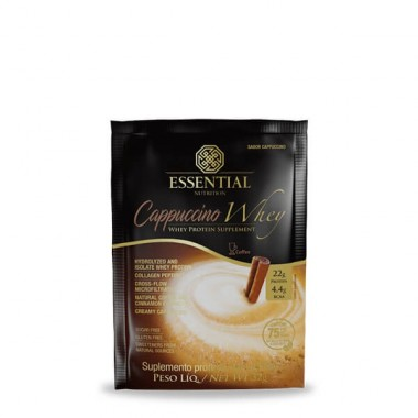 Cappuccino Whey 32g Essential Nutrition