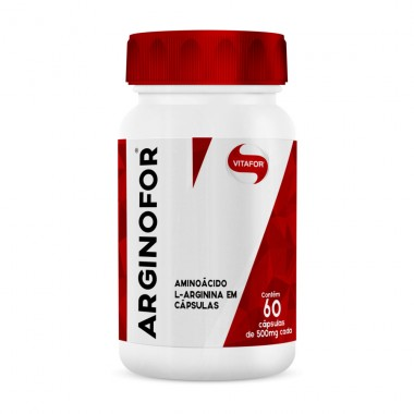 Arginofor (L-Arginina) 60 cápsulas Vitafor