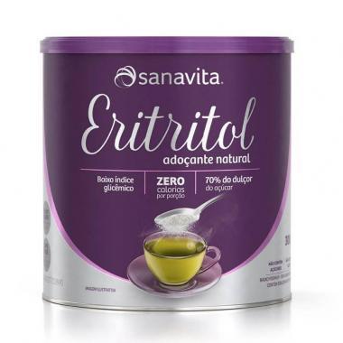 Eritritol Adoçante Natural 300g Sanavita