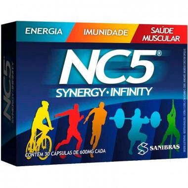 NC5 Synergy Infinity 30 cápsulas Sanibras