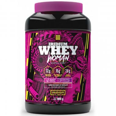 Whey Woman 900g Iridium Labs - Milkshake de Chocolate