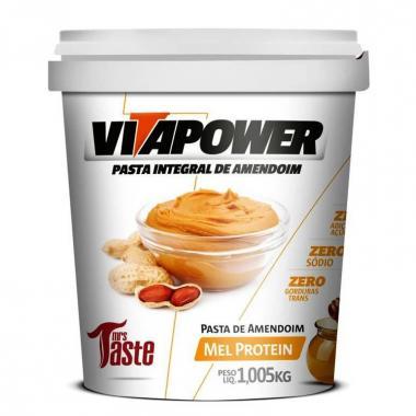 Pasta Integral de Amendoim 1,005Kg Vita Power - Mel Protein
