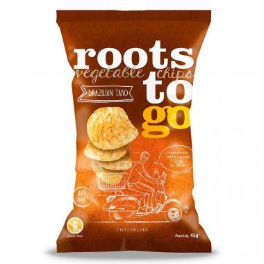Chips de Cará (Brazilian Taro) 45g Roots ToGo