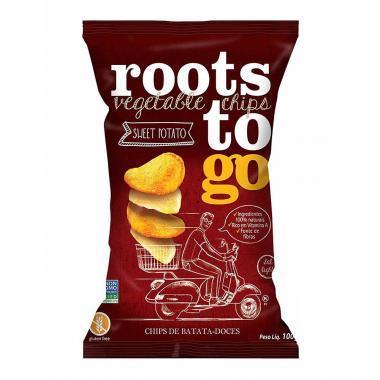 Chips de Batatas-Doces (Sweet Potato) 45g Roots ToGo