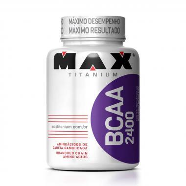 BCAA 2400 com 60 Cápsulas Max Titanium