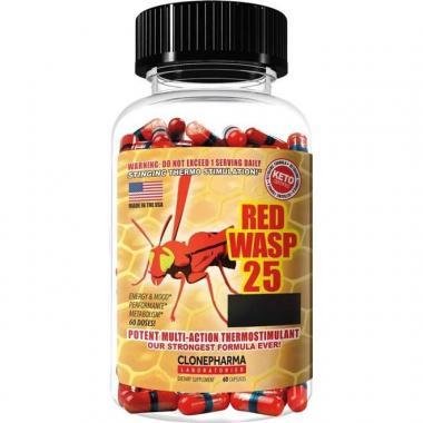 Red Wasp 25 (60 cápsulas) Clone Pharma