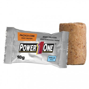 Paçoca com Whey Protein 18g Power 1 One