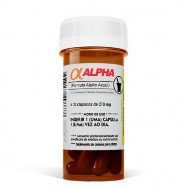 Alpha Axcell 30 cápsulas Power Supplements