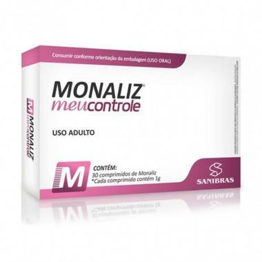 Monaliz Meu controle 30 comprimido Sanibras