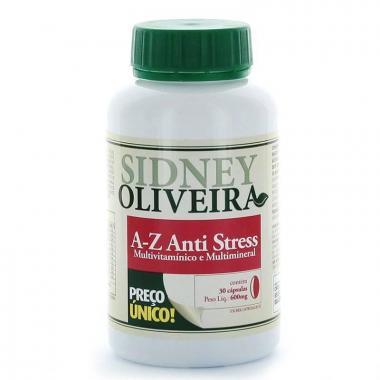 A-Z Anti-Stress - Sidney Oliveira 30 Cápsulas
