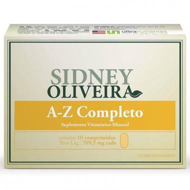 A-Z Completo - Sidney Oliveira 10 Comprimidos