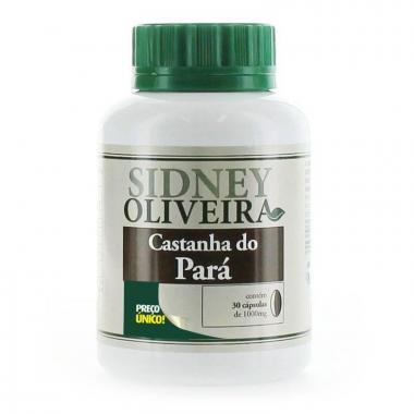Castanha do Pará - Sidney Oliveira 30 Cápsulas