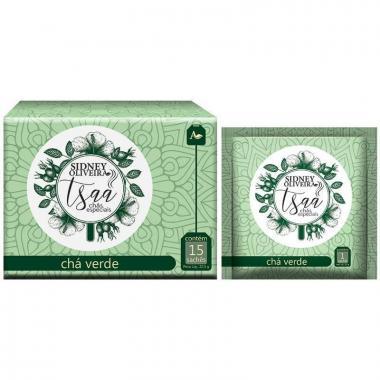 Chá Verde Tsaa 15 Sachês 22,5g
