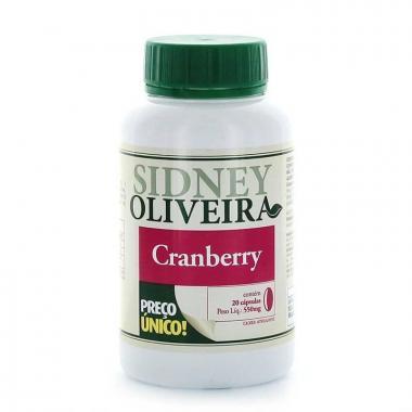 Cranberry 550mg - Sidney Oliveira 20 Cápsulas