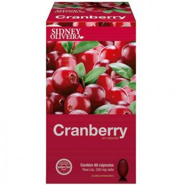 Cranberry 550mg - Sidney Oliveira 60 Cápsulas