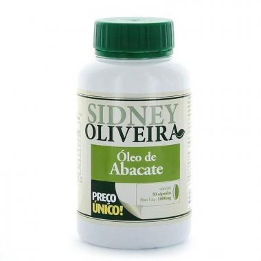 Óleo de Abacate - Sidney Oliveira 30 Cápsulas