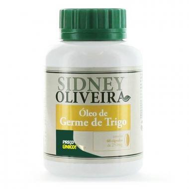 Óleo de Germe de Trigo - Sidney Oliveira 60 Cápsulas
