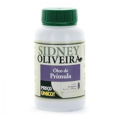 Óleo de Prímula 500mg - Sidney Oliveira 60 Cápsulas
