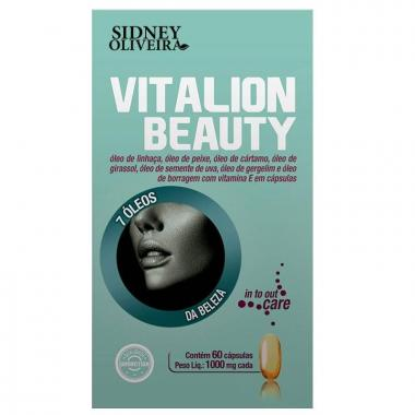 Vitalion Beauty 1000mg - Sidney Oliveira 60 Cápsulas