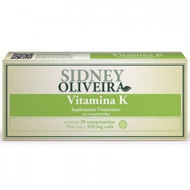 Vitamina K 320 Mg - Sidney Oliveira 20 Comprimidos