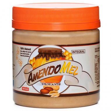 Pasta de Amendoim Crocante com Mel 1,010kg Grain Power
