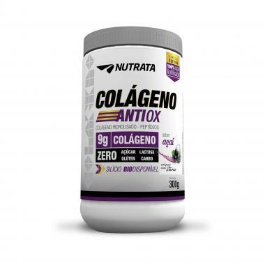 Colágeno Hidrolisado Antiox Zero 300g Nutarta - Açaí