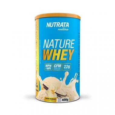 Nature Whey 400g Nutrata - Baunilha