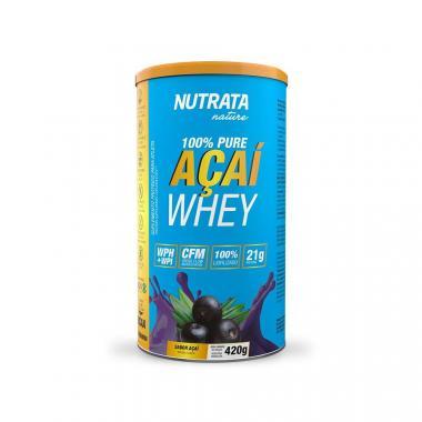Whey Nature Açaí 100% Pure 420g Nutrata