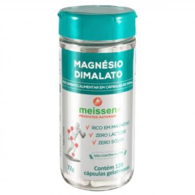 Mágnesio Dimalato 120 cápsulas Meissen