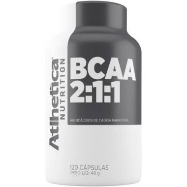 BCAA 2:1:1 120 cápsulas Atlhetica Nutrition