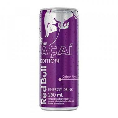 Energético Red Bull  250ml pack c/4 latas -  Açaí